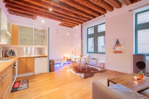 New! Spacious flat in Vieux Lyon : Appartement proche de Écully