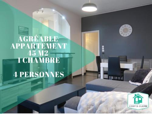 LE REPUBLIQUE ★ COSY & CLEAN ★ : Appartement proche de Clénay