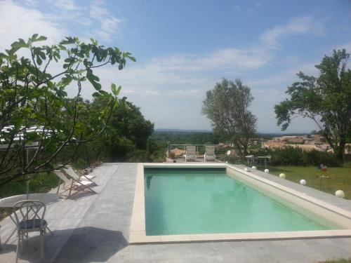 Villa Sun And Beautiful Views Of Gardon : Hebergement proche de Sainte-Anastasie