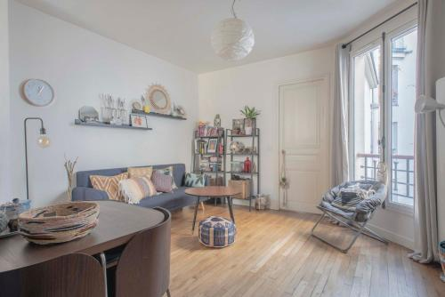 Appartement New! Nice and luminous flat in Paris 18