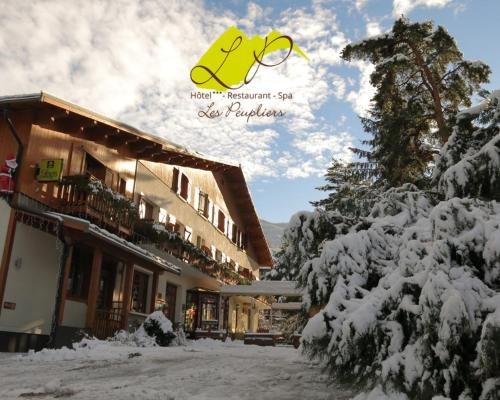 Hotel-Restaurant Spa Les Peupliers : Hotel proche d'Embrun