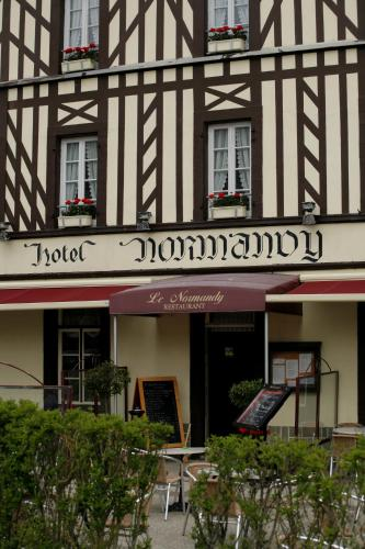 Le Normandy : Hotel proche de Ferques