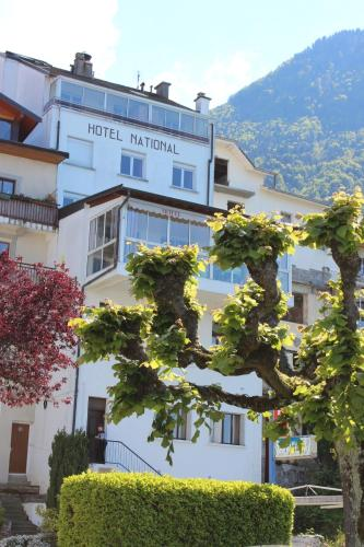 Hotel National : Hotel proche de Saint-Gingolph