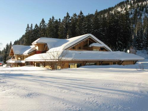 Chalet Hotel Vaccapark : Hotel proche d'Onnion