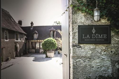 La Dime de Giverny - Cottages : Hebergement proche d'Amenucourt