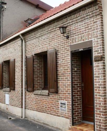 La Maison Orange 2 : Hebergement proche de Chocques