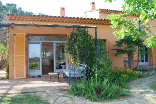 House With Garden And Sea View : Hebergement proche de Pierrefeu-du-Var