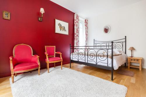 Versailles Experience Idyllic : Appartement proche de La Celle-Saint-Cloud