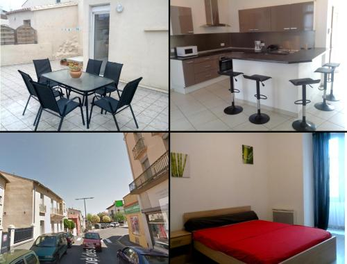 Apparts Perpi Centre : Appartement proche de Toulouges