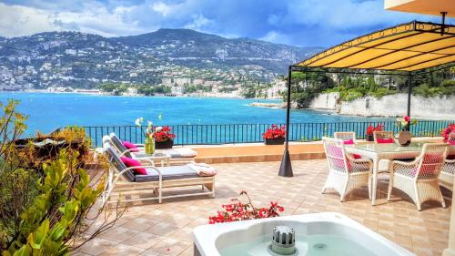 Appartement Cap Ferrat Luxury Terrace Sea Front