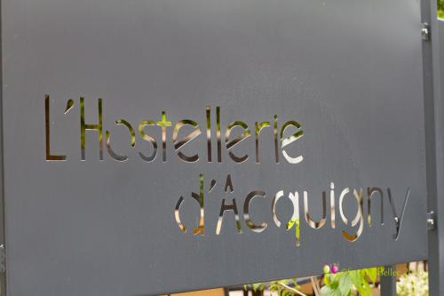 L'Hostellerie d'Acquigny : Hotel proche d'Ailly