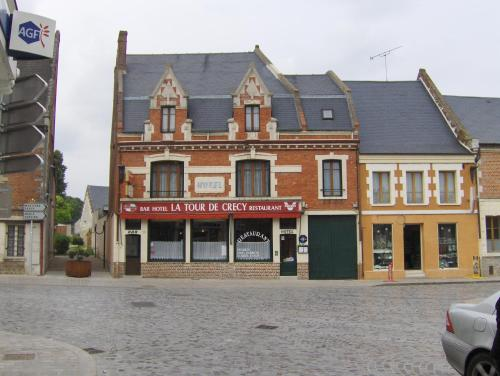 La Tour de Crecy : Hotel proche de Saint-Gobert
