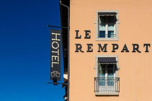 Hotel The Originals Tournus Le Rempart (ex Qualys-Hotel) : Hotel proche d'Ozenay