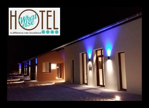 What Else Hotel : Hotel proche de Saint-Baudille-de-la-Tour