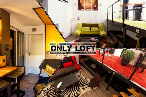 Appartement Apartment Only Loft Lyon Brotteaux-Part Dieu