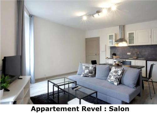 Appartement Revel : Appartement proche d'Airoux
