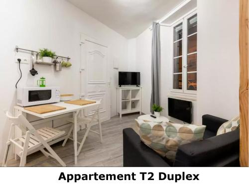 Appartement T2 Duplex : Appartement proche de Massaguel