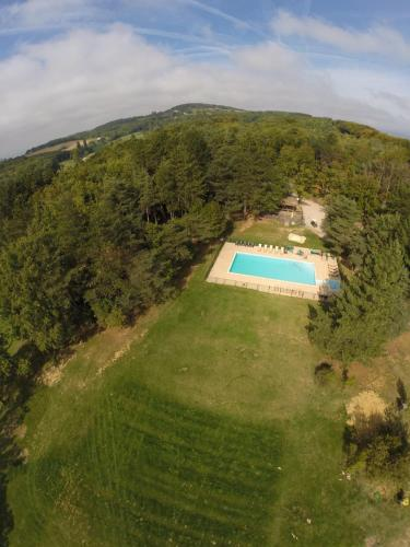 Safari Lodge du Grand Bois : Hebergement proche de Pont-de-Barret