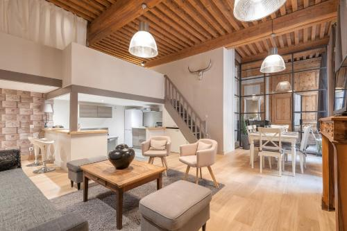 ClubLord - Beautiful Loft Canut Hyper Center : Appartement proche du 4e Arrondissement de Lyon