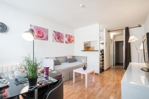 Plaza 1 : Appartement proche de Pierlas