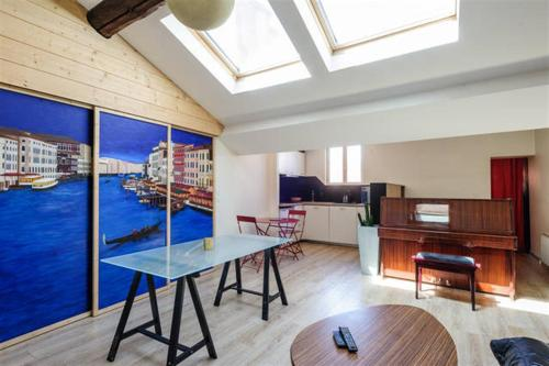 Loft in Lyon downtown : Appartement proche du 2e Arrondissement de Lyon