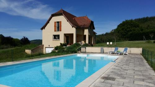 Valley View B&B : Chambres d'hotes/B&B proche de Brengues
