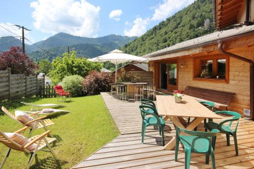 Chalet Coffy : Hebergement proche de Saint-Jean-d'Aulps
