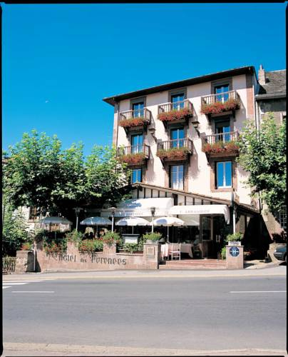 Saint jean pied de port carte plan hotel village de saint jean pied de port 64220 cartes - Hotels in saint jean pied de port france ...