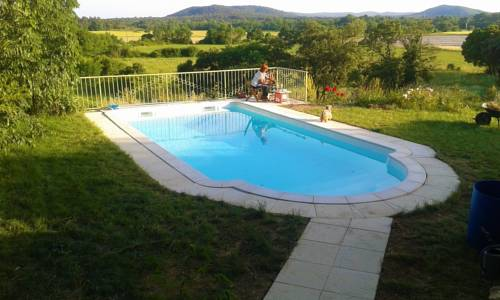 Holiday home Les Mazes : Hebergement proche de Bragassargues