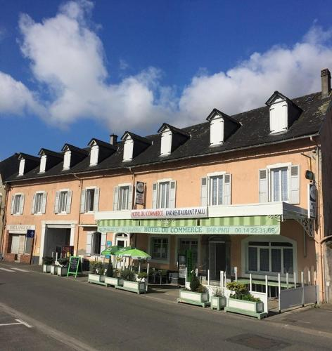 Hotel du Commerce : Hotel proche d'Aast