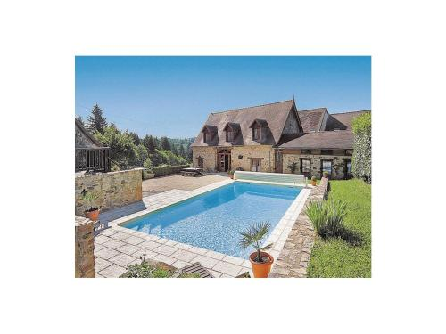 Holiday home Bourneix H-900 : Hebergement proche de Jumilhac-le-Grand