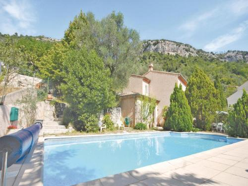 Holiday home Route de Chateauneuf : Hebergement proche de Tourrette-Levens