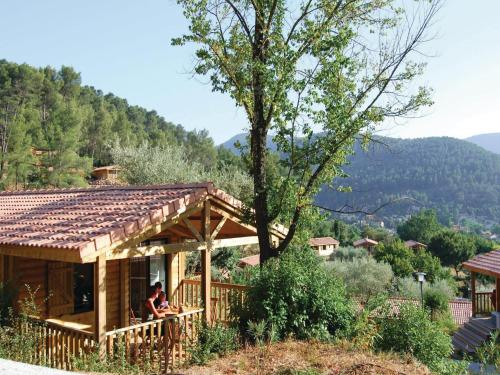 Two-Bedroom Holiday Home in Solies-Toucas : Hebergement proche de Solliès-Toucas