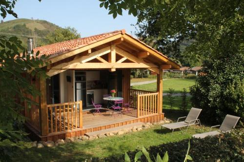 Camping Narbaitz : Hebergement proche d'Anhaux