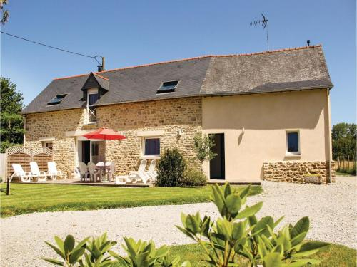 Three-Bedroom Holiday home Dourdain 06 : Hebergement proche de Champeaux