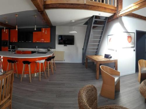 La Villa Bottentuit : Appartement proche de Saint-Julien-sur-Calonne