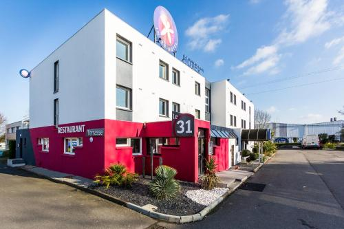 Hotel The Originals Nantes Ouest Agora (ex Inter-Hotel) : Hotel proche d'Orvault