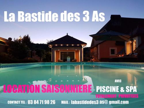 LA BASTIDE DES 3 AS : Appartement proche de Motey-Besuche