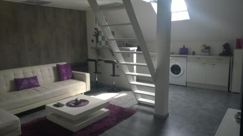 Studio Cosy Plein centre ville : Appartement proche de Montaigu