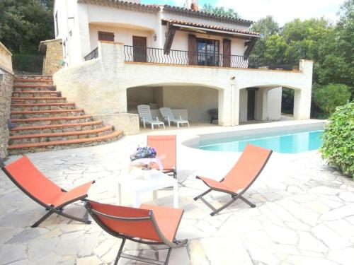 Nice holliday villa in a private area of the Haut Var : Hebergement proche d'Ampus