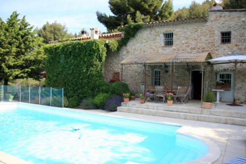 Charming house with private pool in Bandol on the French Riviera - Var : Hebergement proche de Évenos