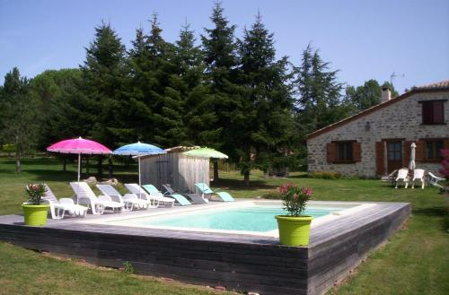 Holiday home Guillau : Hebergement proche de Monteils