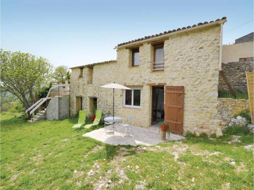 Holiday home Ste Anastasie 80 with Outdoor Swimmingpool : Hebergement proche de Sainte-Anastasie
