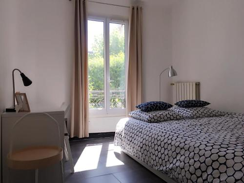 Robert Flat with private garden : Appartement proche de La Garenne-Colombes