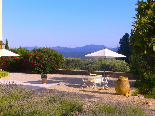 Charming villa with pool and view : Hebergement proche de Montauroux