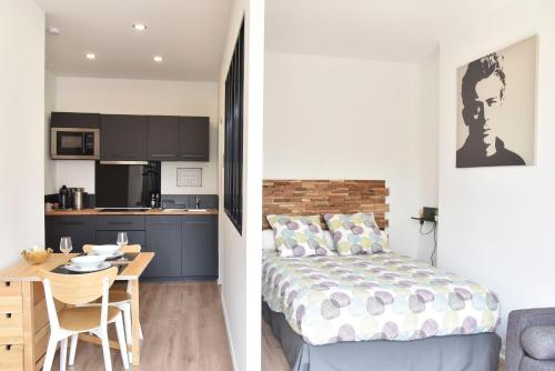 Au Studio 36 Arras : Appartement proche de Héninel