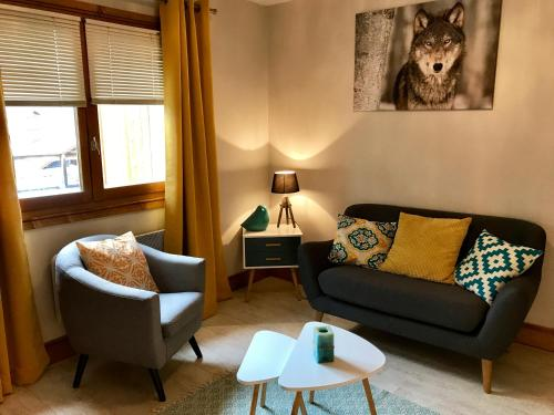 Brown Bear Lodge : Appartement proche de Granier
