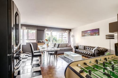 Modern Flat 15min Paris - Orly : Appartement proche d'Orly