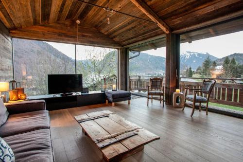 Chalet Bella : Hebergement proche d'Essert-Romand