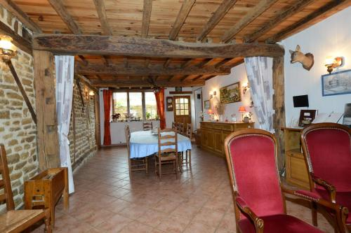 Chambres d'hôtes L'Hirondelle : Chambres d'hotes/B&B proche d'Any-Martin-Rieux